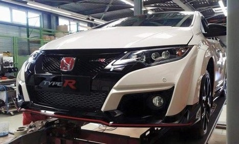 Honda Civic Type R Spotted without Camouflage - SpeedLux | Technology | Scoop.it