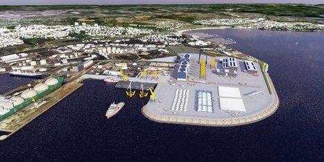 Port de Brest : le futur polder dédié aux EMR | La Touline - | Scoop.it