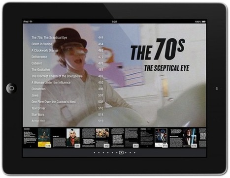 iPad ebook of the 100 finest examples of 20th century filmmaking - Boing Boing | iThink, therefore iPad | Scoop.it