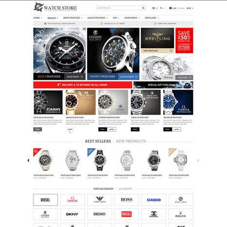WatchStore Prestashop Theme | Prestashop Theme Download | Best Prestashop Themes | Scoop.it