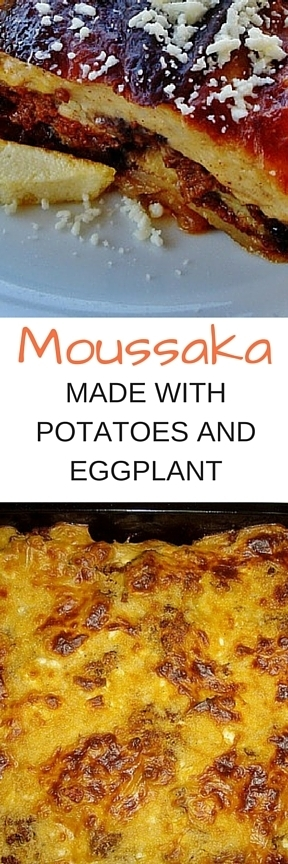 Moussaka with Potatoes and Eggplant | Letitia's Foodie Nation | Scoop.it