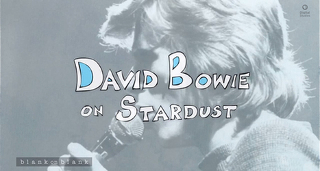 David Bowie On Stardust, An Animated Interview - Socks On An Octopus | SOAO Art and Design | Scoop.it