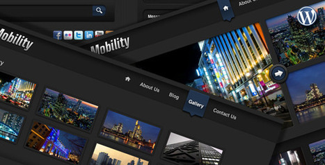 40 Premium Black Portfolio Wordpress Themes for Photographers | 26 Ultimate Premium Facebook Page Templates | Scoop.it