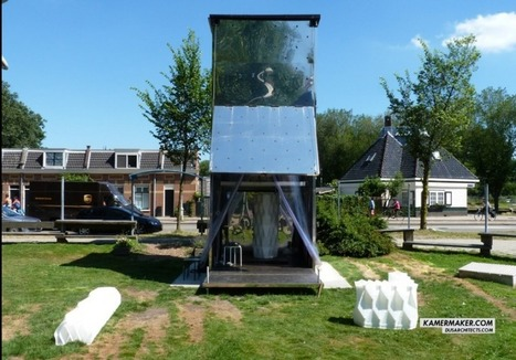 A 3D printed house rises in Amsterdam | Makers and Future Electronics | Scoop.it