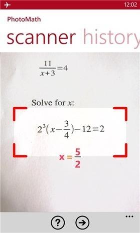 PHOTOMATH: Increíble aplicación para resolver ejercicios de matemáticas con solo tomar una foto « Juegos gratis y Software Educativo | Ciencia y Tecnología | Scoop.it