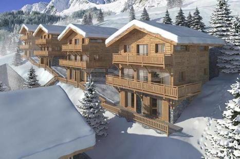 5 chalets neufs à Grimentz, une exclusivité CNC Immobilier à...   Immobilier Fribourg   Scoop.it