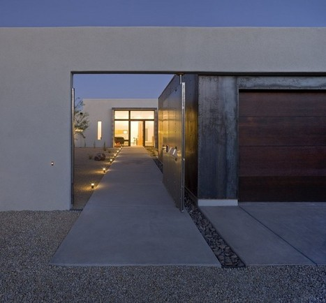 The Six: Courtyard Houses by Ibarra Rosano Design Architects | Rendons visibles l'architecture et les architectes | Scoop.it