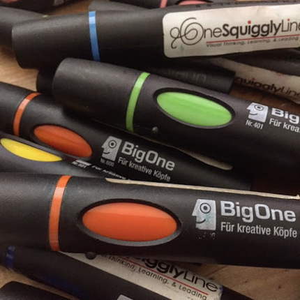 Grab-n-Go Graphic Recording Supplies<br/><br/>A big part of visual thinking involves&hellip; | Graphic Coaching | Scoop.it