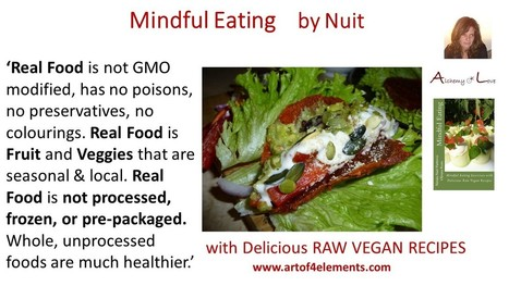Mindful Eating: What is Real Food for Health   Eat Mindfully   Scoop.it