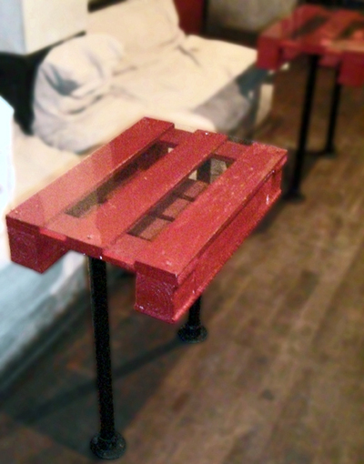 Re-purposed Pallets as Lightbox tables. - Recyclart | varnish | Scoop.it