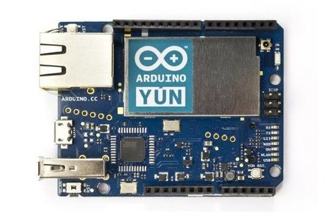 "20 Projects To Celebrate Arduino Day - Make: ~ by Jordan Bunker and David Scheltema | L'impresa ""mobile"" 