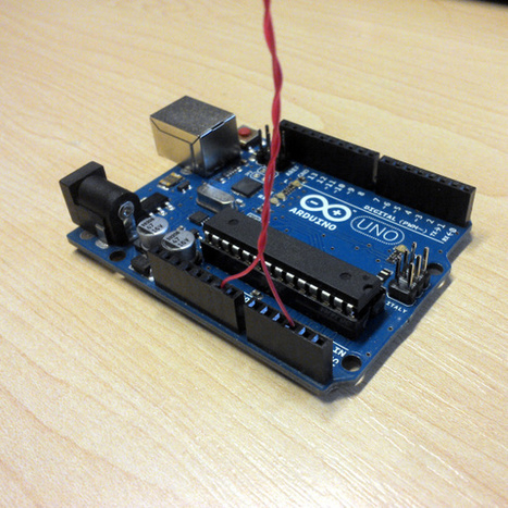 Arduino Motion Detection With A Bit Of Wire | Raspberry Pi | Scoop.it