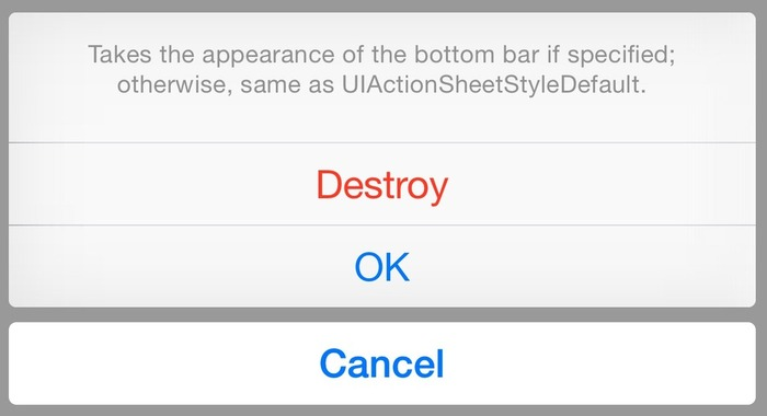 UIAlertView and UIActionSheet are deprecated in iOS8 | iPhone and iPad development | Scoop.it