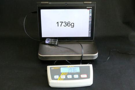 Une balance USB sans drivers | Hightech, domotique, robotique et objets connectés sur le Net | Scoop.it