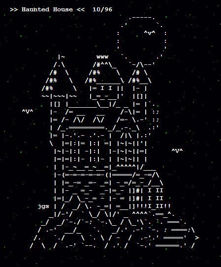 HALLOWEEN ASCII Art by Joan Stark | ASCII Art | Scoop.it