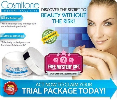 Cosmitone Review - Where to Buy Cosmitone Instant Face Lift | Most ideal Way To Get Younger Looking Skin! | Scoop.it