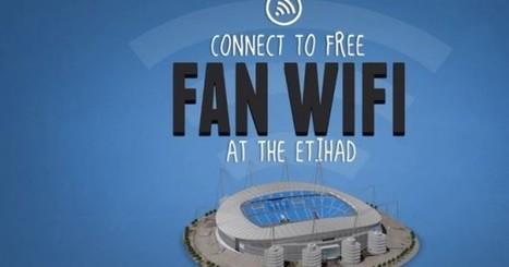 Manchester City, premier club de Premier League à offrir la Wifi gratuite dans son stade! | Innovation and digital soccer | Scoop.it