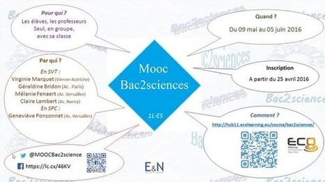 Le sMOOC #Bac2sciences est ouvert ! | Ressources d'apprentissage gratuites | Scoop.it