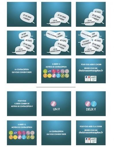 Contraception : une nouvelle campagne pour mieux choisir - Elle | EDUCATION A LA SANTE | Scoop.it