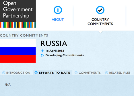 Russia withdraws from Open Government Partnership. Too much transparency? | Diálogos sobre Gobierno Abierto | Scoop.it