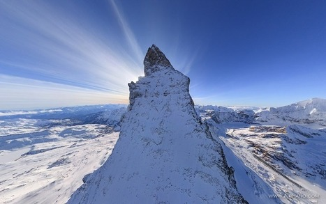 The Matterhorn Mountain, Switzerland | 360 Degree Panorama | 3D Virtual Tours Around the World | Photos of the Most Interesting Places on the Earth | AirPano.com | Unique Places | Scoop.it