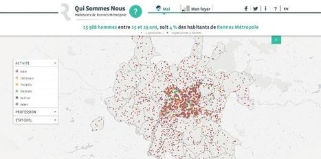 Open Data : Dataveyes dresse le portrait de la population de Rennes   agenda21@castries.fr   Scoop.it