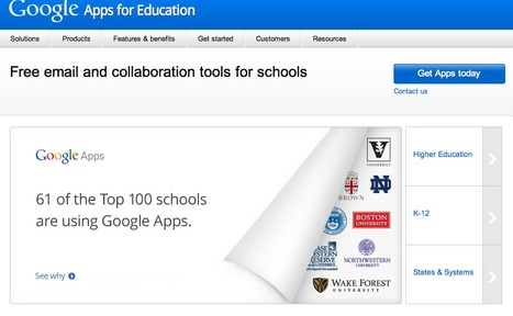 Google Apps for Education | Official Website | Prionomy | Scoop.it
