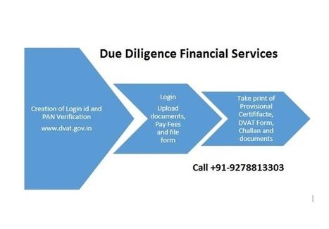 How to get online Delhi VAT DVAT registration | Due Diligence Financial Services | Company Registration in Delhi | Scoop.it