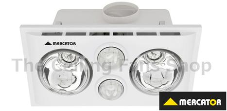 Lava Duo White Bathroom Heater & Fan  -  $115.99 | Ceiling Fans Lights | Scoop.it