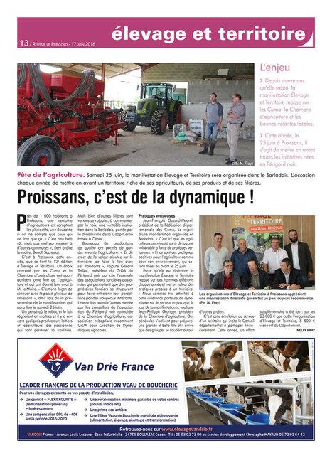 À Proissans, c'est la fête de la dynamique agricole | Agriculture en Dordogne | Scoop.it