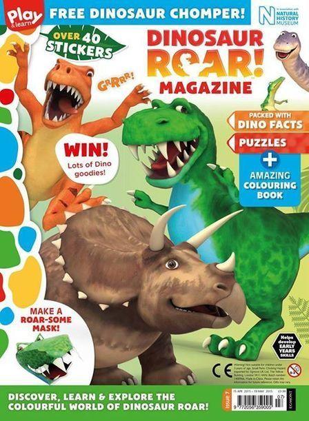 Dinosaur Roar! Magazine out in April! | Dinosaur Roar! | Scoop.it