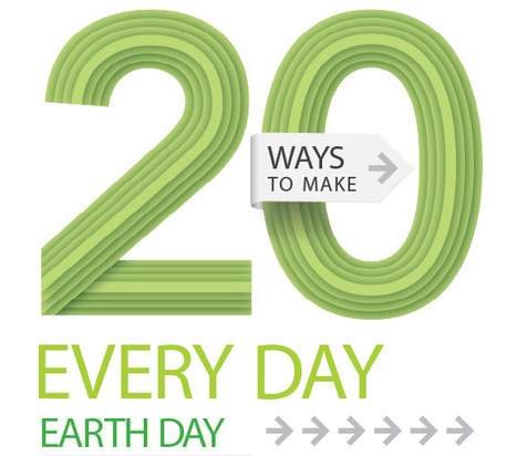 20 Ways to Make Every Day Earth Day | Kids Going Green!! | Scoop.it