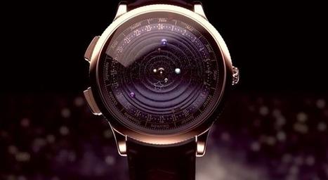 Cette montre de luxe reproduit la danse du Système solaire - CitizenPost | Découverte | Scoop.it