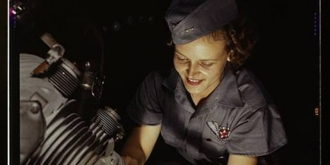18 Color Photos Of Female WWII Workers That Will Make You Proud(er) To Be A Woman | Hidden Tales of WW2 | Scoop.it