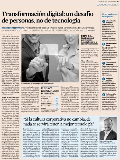 Transformação digital: um desafio de pessoas, não de tecnologia | GESTÃO DE PESSOAS | Scoop.it