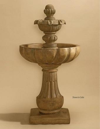 Exalted Fountains | Serafina 2-Tier Fountain | Garden Fountains Are Wonderful | Scoop.it