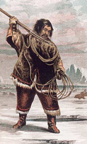 The Arctic People - Food / Hunting / Tools | Crow and weasel | Scoop.it