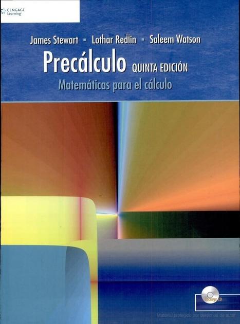 Precálculo, 5ta Edición – James Stewart, Lothar Redlin & Saleem ... | Pre-cálculo | Scoop.it