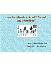 Luxurious Apartments with Bharat City Ghaziabad | bharatcity | Scoop.it