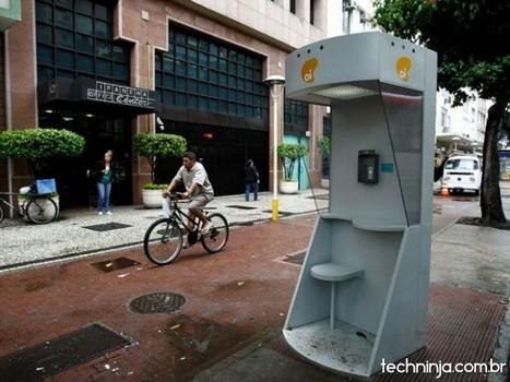 Orelhões no RJ oferecem Wi-Fi gratuito | TechNinja | Urban Life | Scoop.it