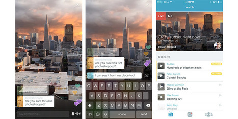 Twitter presenta Periscope, l'app per i video in live streaming | Web Marketing | Consigli e Soluzioni | Scoop.it