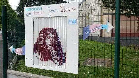 Quand #JRacine s'anime en le flashant...Tweet de @AMalassenet | Vie numérique  à l'école - Académie Orléans-Tours | Scoop.it