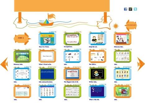 Vocabulario en Inglés. Las Profesiones - Educanave. | Preparación de actividades dinámicas | Scoop.it