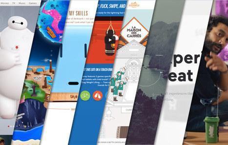 L'inspiration webdesign du mois #6 | #Graphisme #Webdesign #Communication #Publicité | Scoop.it
