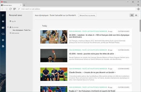 Opera 40 beta browser gets a [modest] RSS reader | RSS Circus : veille stratégique, intelligence économique, curation, publication, Web 2.0 | Scoop.it