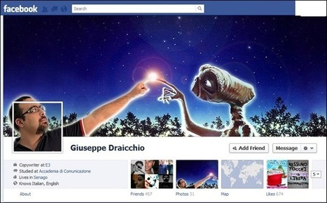 30 Awesome and Creative Facebook Timeline Profile Designs - tripwire magazine | if you are bad i am your dad | Scoop.it