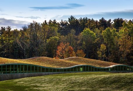 A Connecticut Biomass Plant Features an Undulating Green Roof | sustainable architecture | Scoop.it