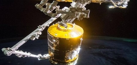 Japanese 'White Stork' Cargo Craft Leaves ISS | Astronomy News | Scoop.it