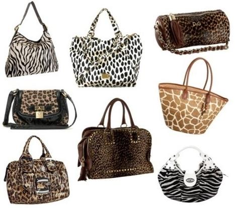 Animal prink el estampado mas gustado en bolso en este temporada de otoño-invierno | fashion accesories | Scoop.it