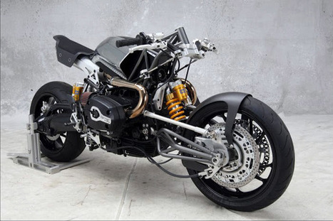 BMW-HARRIER CUSTOM BIKE by Stellan Egeland | BMW Classic | Scoop.it